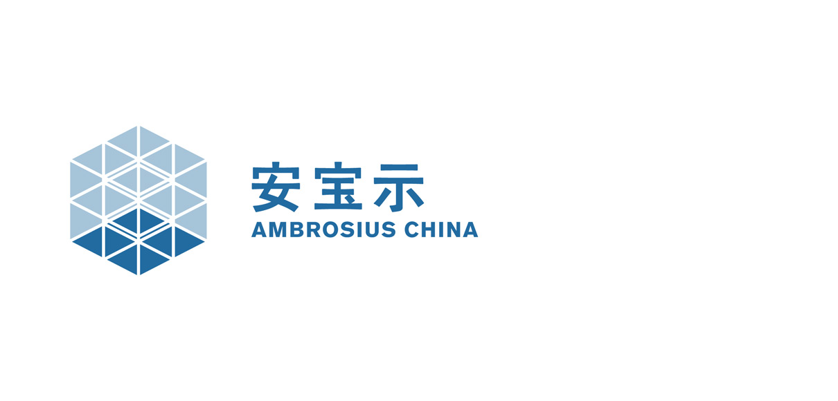 English Chinese Brand logo